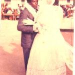 Prof. Naomi Nari dancing with her husband James - Rugu
