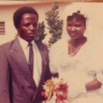Prof. Naomi Nari with husband James - Rugu